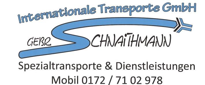 Gebr. Schnaithmann GmbH Internationale Transporte